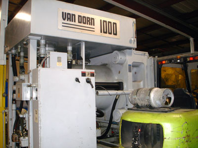 1993 Van Dorn 170-RS-8FHT Used Injection Molding Machine